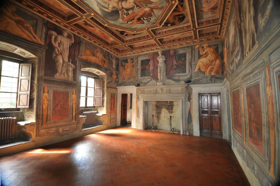 Salone affrescato di Casa Vasari, Arezzo