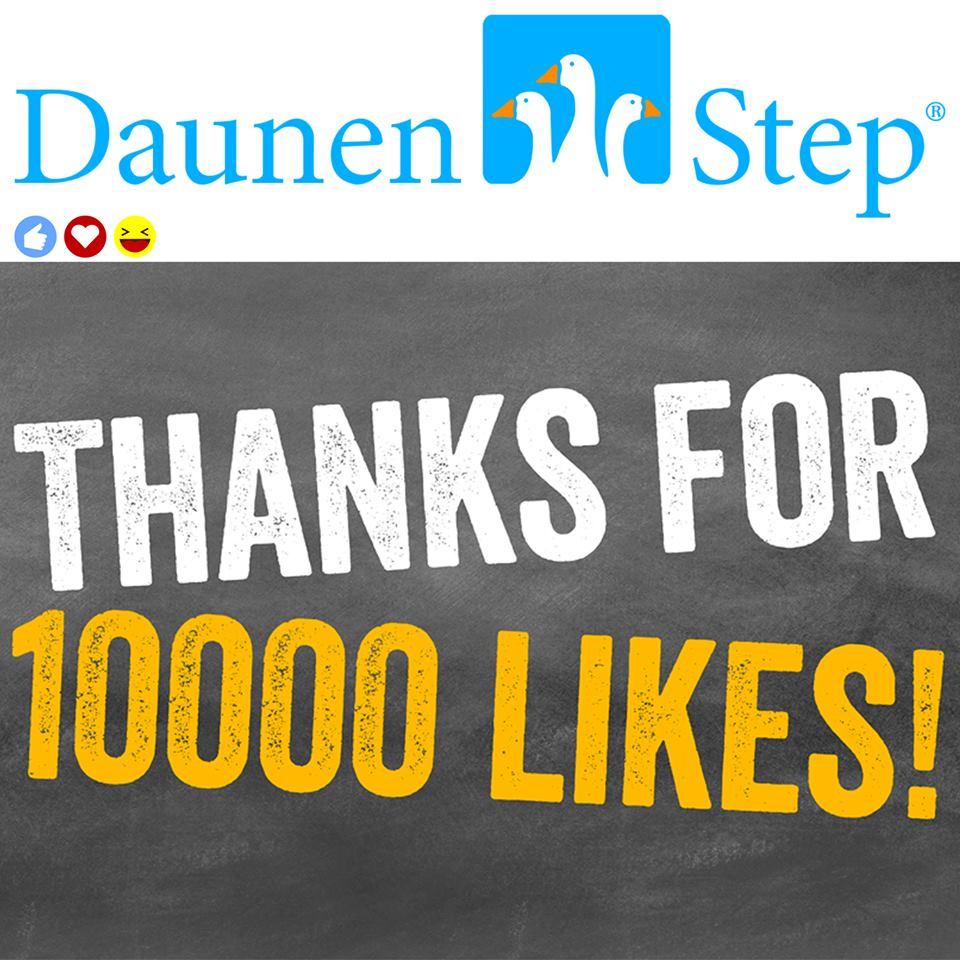 DaunenStep raggiunge i 10.000 followers - meme di ringraziamento