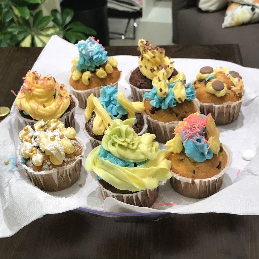 Dopo la sfida per aggiudicarsi il salvamaterasso Vivawhite di DaunenStep, Giada e Jonathan si sfidano di nuovo in una gara di decorazione cupcake