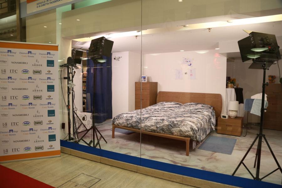 La DaunenStep Cozy Room vuota