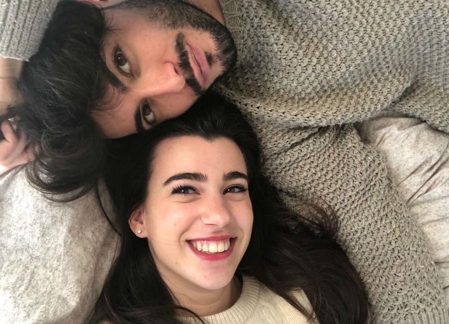 Giada Cusin e Jonathan Quattrocchi in un selfie