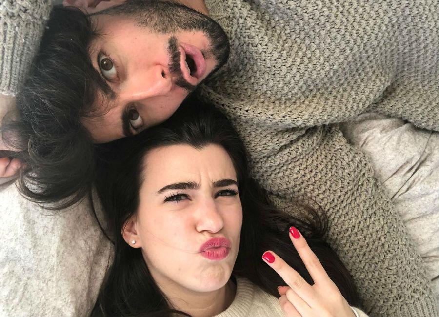 Giada Cusin e Jonathan Quattrocchi in un selfie divertente